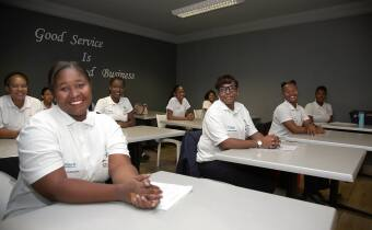 Classroom eduction for Namibia Girls FA